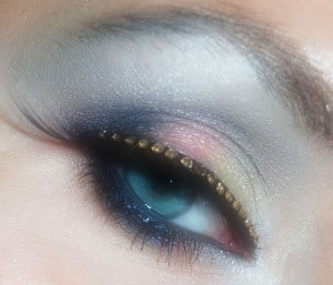 eye make up old fashioned?